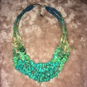 Coldwater Creek Turquoise Necklace EUC